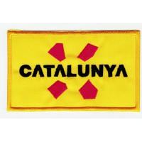 Parche bordado CATALUNYA 10,5cm X 6,3cm