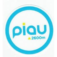 Parche textil PIAU 2600 8CM