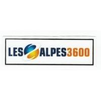 textile patch LES ALPES 3600 9CM X 3CM