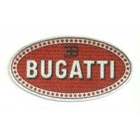 Textile patch BUGATTI 9,5cm x 5cm