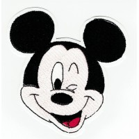 Patch embroidery MICKEY 8,5cm x 8cm
