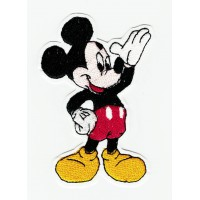 Patch embroidery MICKEY body 10cm x 7m