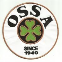 Parche bordado OSSA 18cm diámetro