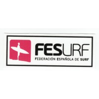 Textile patch SPANISH FEDERATION OF SURF 9cm x 3,5cm