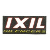 Textile patch IXIL SILENCERS 8,5cm x 3,5cm