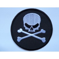 embroidery patch PIRATA 7,5cm diametro