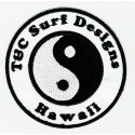 Patch embroidery SURF DESIGNS HAWAII 7,5cm