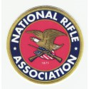 NATIONAL RIFLE ASSOCIATION textile and embroidery patch 7.5cm