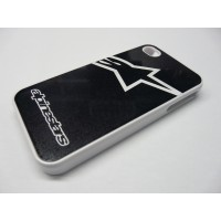 IPHONE 5 ALPINESTARS LOGO BLANCA