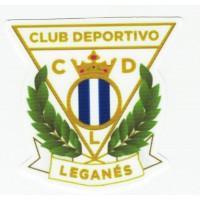 Parche textil CLUB DEPORTIVO LEGANES 8cm x 7,5cm