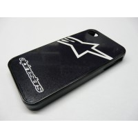 IPHONE 5 ALPINESTARS LOGO NEGRA