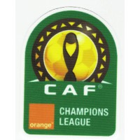 Textile patch CAF CHAMPIONS LEAGUE 6.5cm x 8cm