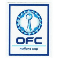 Textile patch OFC NATIONS CUP 7cm x 8.5cm