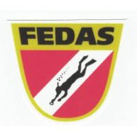 Textile patch FEDAS 8cm x 7,5cm