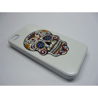 IPHONE 5 CALAVERA FLORES