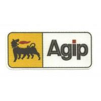 Parche textil AGIP 9cm x 4cm