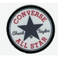 Textile patch and embroidrey CONVERSE 5cm x 5cm
