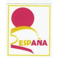 textile patch FEDERACIÓN ESPAÑOLA DE DEPORTES PARA DISCAPACITADOS INTELECTUALES 7,5cm x 6cm