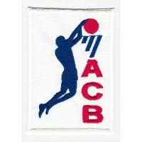 Parche textil NBA 4,5cm x 2cm