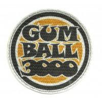 Textile patch GUMBALL 3000 7,5cm x 7,5cm