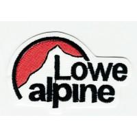 Parche bordado LOWE ALPINE BLANCO 6cm x 4cm
