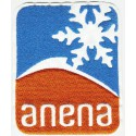 ANENA embroidered patch 6.5 cm x 8 cm