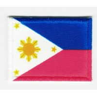 Patch embroidery FLAG FILIPINAS 7CM X 5CM