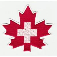 Parche bordado SKI PATROL 8cm x 7,5cm