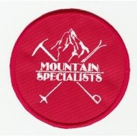 Parche bordado MOUNTAIN SPECIALISTS 8cm