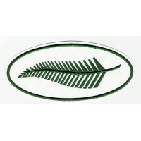 embroidered patch LEAF FERN 13cm x 6cm