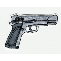 PISTOL embroidered patch 8cm x 5,5cm