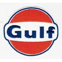 Patch embroidery GULF 9cm x 8cm