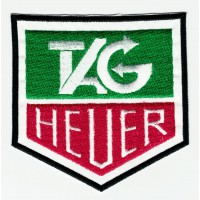 Patch embroidery TAG HEUER 8cm x 8cm