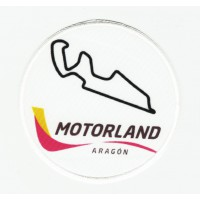 Patch textile and embroidery MOTORLAND ARAGÓN 8,5cm