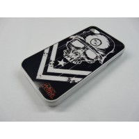 IPHONE 5 METAL MULISHA BLANCO Y NEGRO