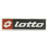 Textile patch LOTTO 9,5cm x 2,5cm