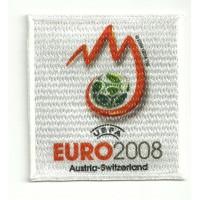 Parche bordado y textil UEFA EURO 2008 7cm x 7cm