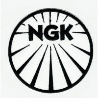 Parche bordado NGK B/M 7.5cm