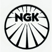 NGK B/N embroidered patch 7.5cm