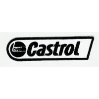 Parche bordado CASTROL B/M 10cm x 2.7cm