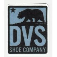 Textile patch DVS SHOE COMPANY 5cm x 6cm