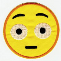 EMOTICON 7 embroidered patch 4,5cm