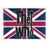 Parche textil y bordado THE WHO 7cm x 5cm