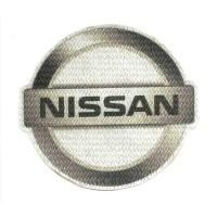 Parche textil NISSAN 8,5cm x 7,5cm