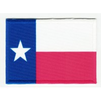 Patch embroidery and textile FLAG TEXAS 4CM x 3CM