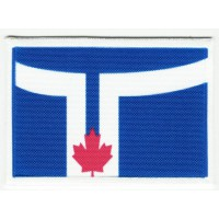 Patch embroidery and textile FLAG TORONTO 4CM x 3CM