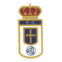 Textile patch REAL OVIEDO 8cm x 4cm