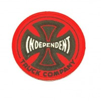 textile embroidery patch INDEPENDENT 7,5cm