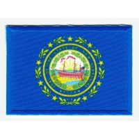 Patch embroidery and textile FLAG HAMPSHIRE 7CM x 5CM
