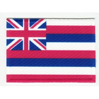 Patch embroidery and textile FLAG HAWAI 7CM x 5CM
